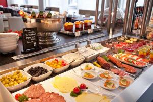 Hotel Asahi Frühstücksbuffet