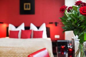 Penthouse Doppelbett Hotel Asahi