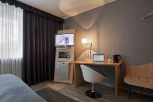 Einzelzimmer Aussattung Hotel Asahi