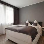 Doppelzimmer im modernen Düsseldorfer Vier Sterne Hotel