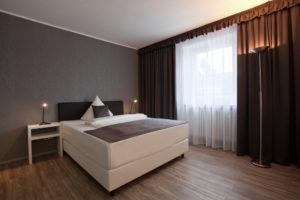 Hotel Asahi Appartment Doppelbett