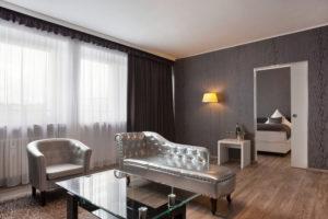 Junior-Suite Wohnbereich Hotel Asahi